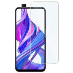 Huawei P Smart Pro screenprotector - Tempered Glass Screenprotector - Case-Friendly