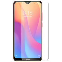 Xiaomi Redmi 8 screenprotector - Tempered Glass Screenprotector - Case-Friendly