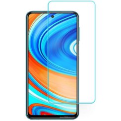 Xiaomi Redmi Note 9 Pro Screenprotector - Tempered Glass Screenprotector - Case-Friendly