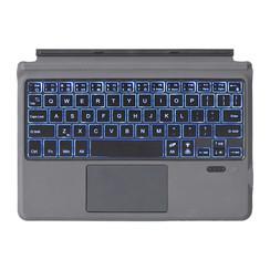 Microsoft Surface Go 2 / Go - Bluetooth Toetsenbord Cover - Met touchpad en toetsenbord verlichting - Zwart