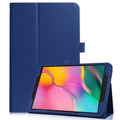 Samsung Galaxy Tab S5e flip hoes - Donker Blauw