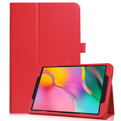 Samsung Galaxy Tab S5e flip hoes - Rood