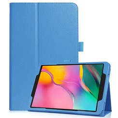 Samsung Galaxy Tab S5e flip hoes - Licht Blauw