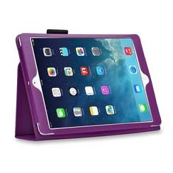 iPad 9.7 - Litchi Flip Case - Purple