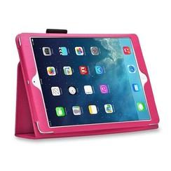 iPad 9.7 - Litchi Flip Case - Magenta