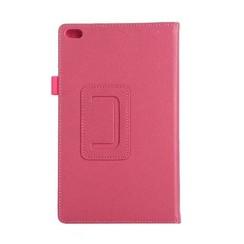 Lenovo Tab 4 8.0 - Litchi Flip Case - Magenta