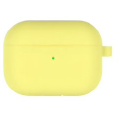 Goospery - Airpods Pro Case - silicone ProtectCase with overprint - Yellow