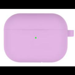 Goospery - Airpods Pro Case - Siliconen beschermhoes met opdruk  - Paars
