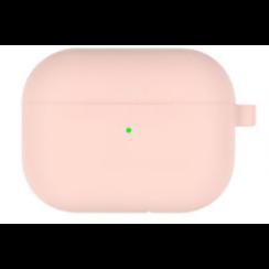 Goospery - Airpods Pro Case - Siliconen beschermhoes met opdruk  - Licht Oranje