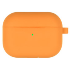Goospery - Airpods Pro Case - silicone ProtectCase with overprint - Orange