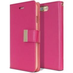 Case for iPhone 7 Plus / iPhone 8 Plus - Rich Diary Case - Flip Cover Magenta