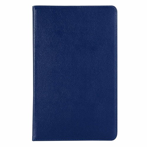 Cover2day Case for Samsung Galaxy Tab A 10.5 (2018) - 360 Degree Rotation Stand Cover - Dark Blue