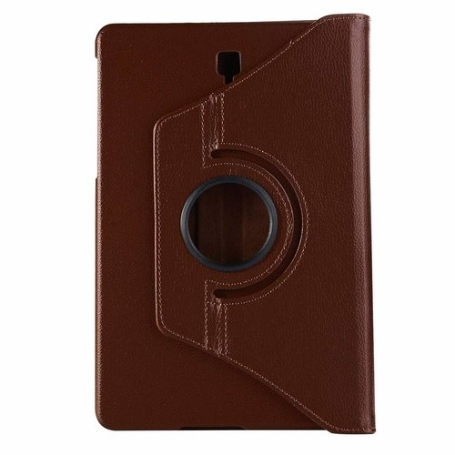 Cover2day Case for Samsung Galaxy Tab S4 10.5 (2018) - 360 Degree Rotation Stand Cover - Brown