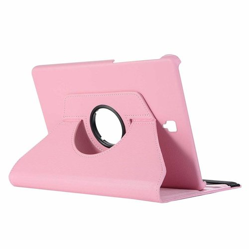 Cover2day Case for Samsung Galaxy Tab S4 10.5 (2018) - 360 Degree Rotation Stand Cover - Pink