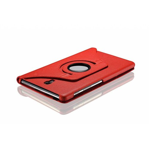 Cover2day Case for Samsung Galaxy Tab S4 10.5 (2018) - 360 Degree Rotation Stand Cover - Red