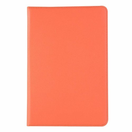 Cover2day Case for Samsung Galaxy Tab S4 10.5 (2018) - 360 Degree Rotation Stand Cover - Orange