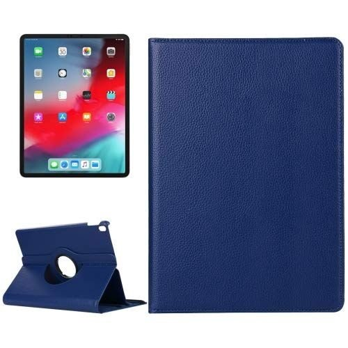 Cover2day Case for iPad Pro 11 (2018) - 360 Degree Rotation Stand Cover - Navy Blue