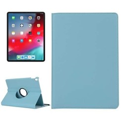 Case for iPad Pro 12.9 (2018) - 360 Degree Rotation Stand Cover - Light Blue