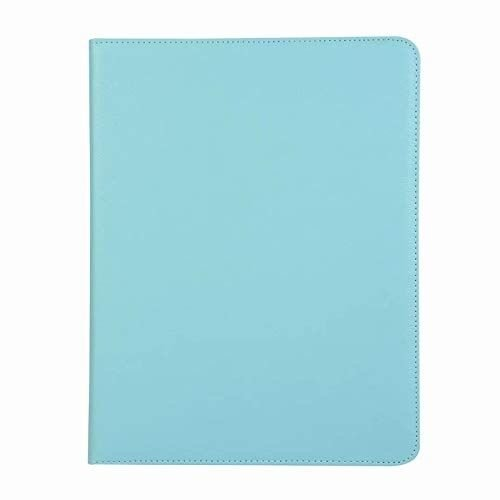 Cover2day Case for iPad Pro 12.9 (2018) - 360 Degree Rotation Stand Cover - Light Blue
