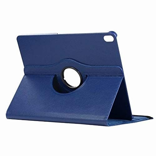 Cover2day Case for iPad Pro 12.9 (2018) - 360 Degree Rotation Stand Cover - Navy Blue