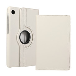 Huawei MatePad T8 hoes - Draaibare Book Case - Wit