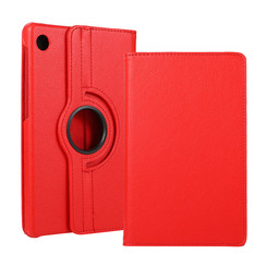 Huawei MatePad T8 hoes - Draaibare Book Case - Rood