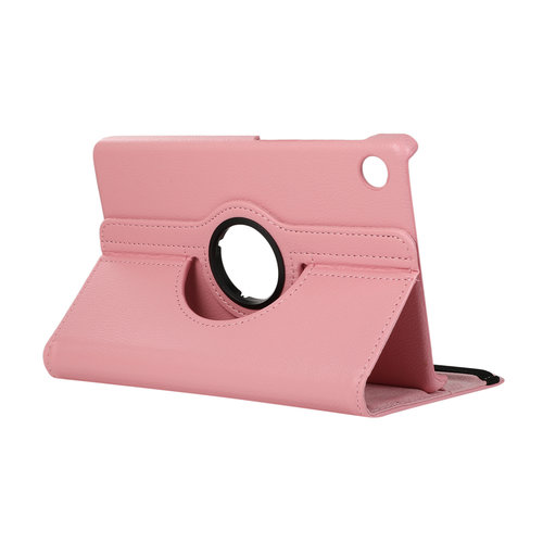 Cover2day Case for Huawei MatePad T8 - 360 Degree Rotation Stand Cover - Pink