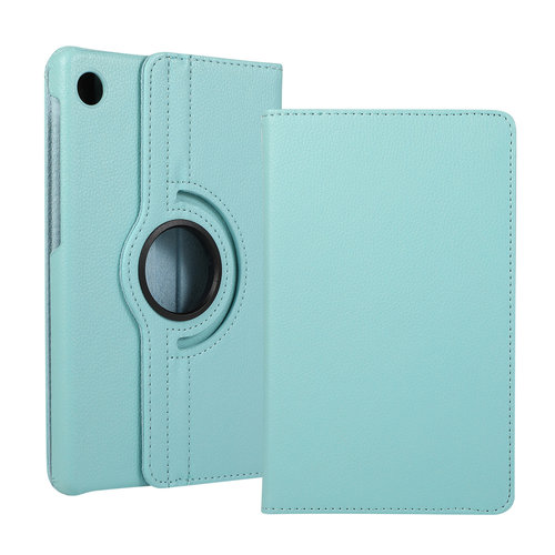 Cover2day Case for Huawei MatePad T8 - 360 Degree Rotation Stand Cover - Light Blue