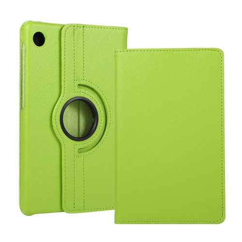 Cover2day Case for Huawei MatePad T8 - 360 Degree Rotation Stand Cover - Green