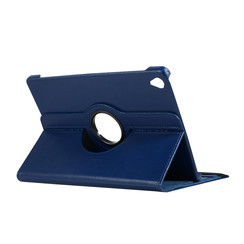 Case for Huawei MediaPad M6 10.8 - 360 Degree Rotation Stand Cover - Navy Blue