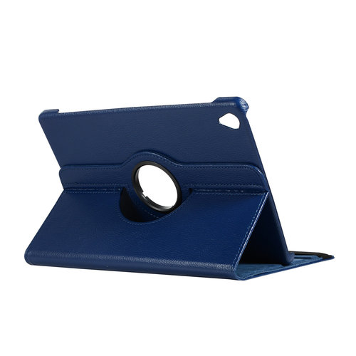 Cover2day Case for Huawei MediaPad M6 10.8 - 360 Degree Rotation Stand Cover - Navy Blue