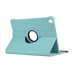 Huawei Mediapad M6 10.8 hoes - Draaibare Book Case - Licht Blauw