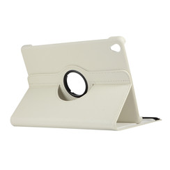 Case for Huawei MediaPad M6 10.8 - 360 Degree Rotation Stand Cover - White