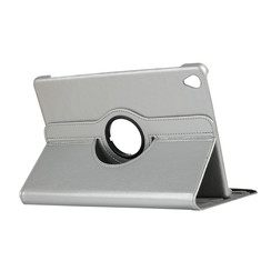 Huawei Mediapad M6 10.8 hoes - Draaibare Book Case - Zilver