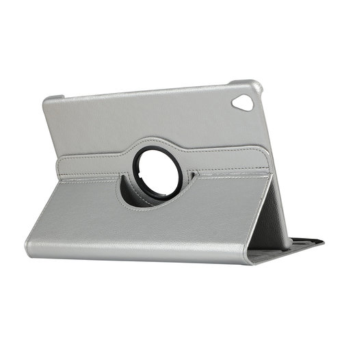 Cover2day Case for Huawei MediaPad M6 10.8 - 360 Degree Rotation Stand Cover - Silver