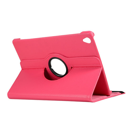 Cover2day Case for Huawei MediaPad M6 10.8 - 360 Degree Rotation Stand Cover - Magenta