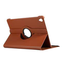 Case for Huawei MediaPad M6 10.8 - 360 Degree Rotation Stand Cover - Brown