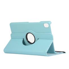 Huawei Mediapad M6 8.4 hoes - Draaibare Book Case - Licht blauw