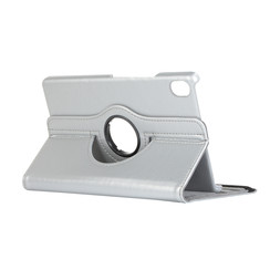 Huawei Mediapad M6 8.4 hoes - Draaibare Book Case - Zilver