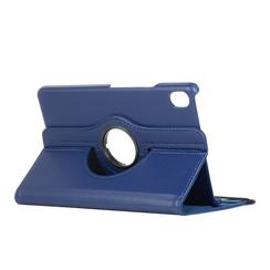 Huawei Mediapad M6 8.4 hoes - Draaibare Book Case - Donker Blauw