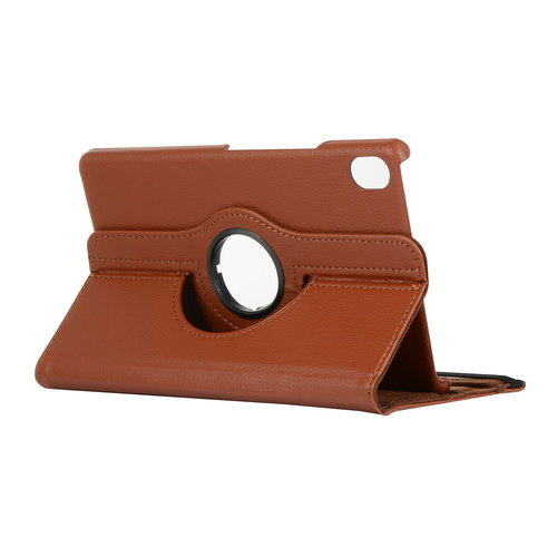 Cover2day Case for Huawei MediaPad M6 8.4 - 360 Degree Rotation Stand Cover - Brown
