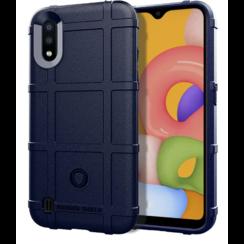 Samsung Galaxy A01 Case - Heavy Armor TPU Bumper - Blue