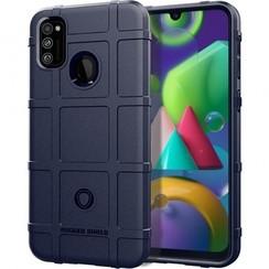 Samsung Galaxy M21 Case - Heavy Armor TPU Bumper - Dark blue