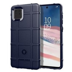 Samsung Galaxy Note 10 Lite Hoes - Heavy Armor TPU Bumper - Donker Blauw
