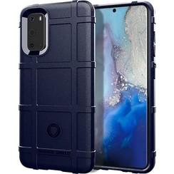 Samsung Galaxy S20 Plus Hoes - Heavy Armor TPU Bumper - Blauw