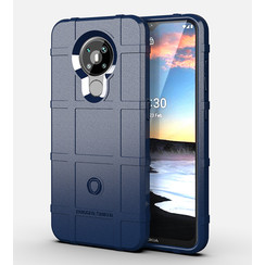 Nokia 5.3 Hoes - Heavy Armor TPU Bumper - Donker Blauw