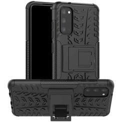 Samsung Galaxy S20 Plus Hoesje - Schokbestendige Back Cover - Zwart