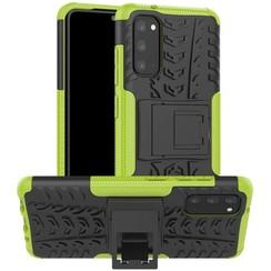 Samsung Galaxy S20 Plus Hoesje - Schokbestendige Back Cover - Groen