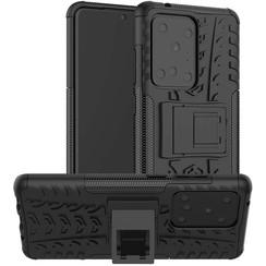 Samsung Galaxy S20 Ultra Hoesje - Schokbestendige Back Cover - Zwart