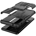 Cover2day  Case for Samsung Galaxy S20 Ultra - Heavy Duty Hybrid Tough Rugged Dual Layer Armor - Kickstand Cover - Black